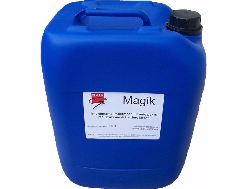 Base coat and impregnating compound for paint and varnish MAGIK by GAIA