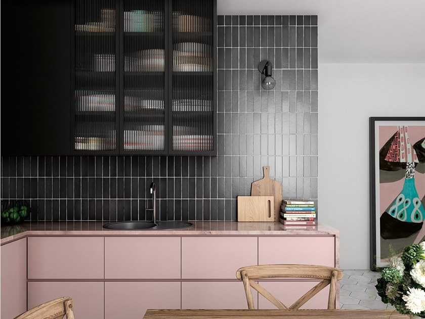 White-paste wall tiles MAGMA by EQUIPE CERAMICAS