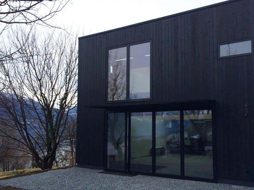 Rivestimento In Legno Per Pareti Esterne : Rivestimento per interni ed esterni in legno carbonizzato magma