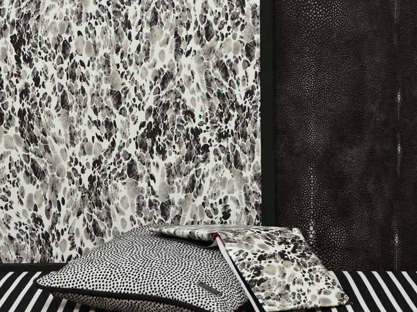Motif nonwoven wallpaper MAGMA by LELIEVRE