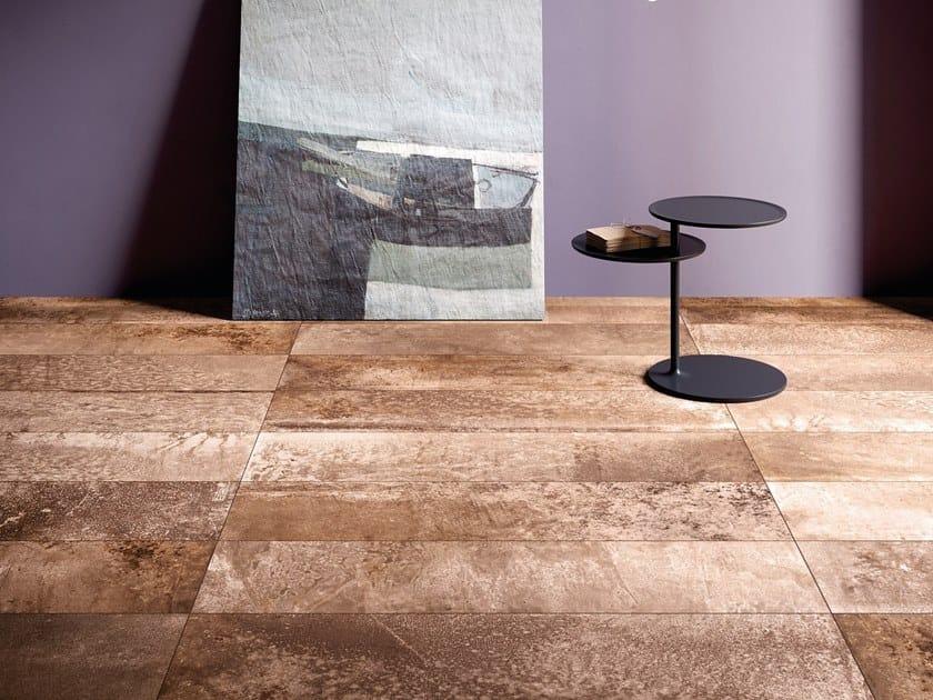 Pavimento/rivestimento in gres porcellanato MAGNETO CORTEN by GranitiFiandre