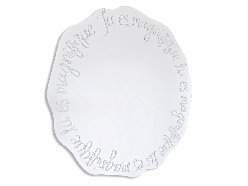 Specchio rotondo a parete magnifique by riflessi - Riflessi specchi prezzi ...