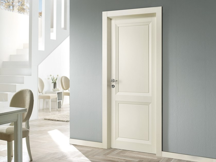 Hinged lacquered door MAGNOLIA 01PP TN by BARAUSSE
