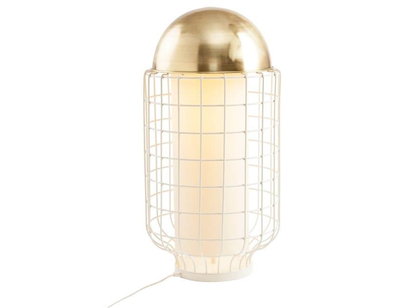 LED metal table lamp MAGNOLIA TABLE by UTU Soulful Lighting