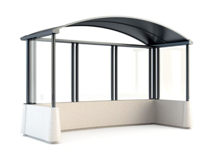 Porch for bus stop MAGNUM by Bellitalia