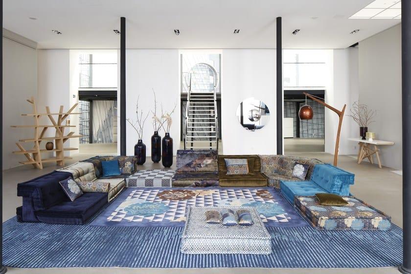 modulares anbausofa aus stoff mah jong kenzo takada by. Black Bedroom Furniture Sets. Home Design Ideas