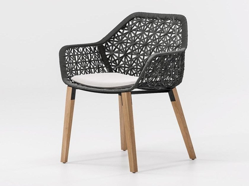 Garden chair with armrests MAIA | Chair by KETTAL