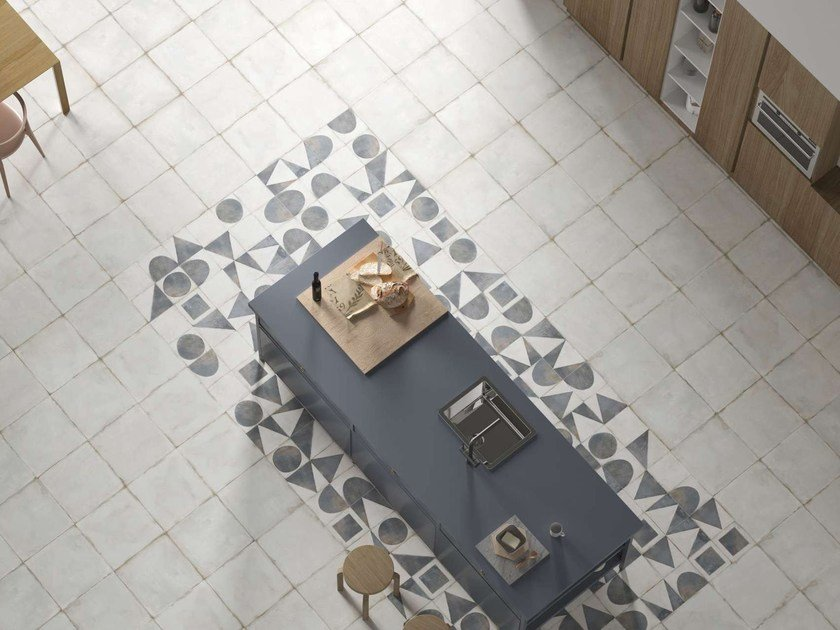 Wallfloor Tiles With Concrete Effect Maison By Harmony Design