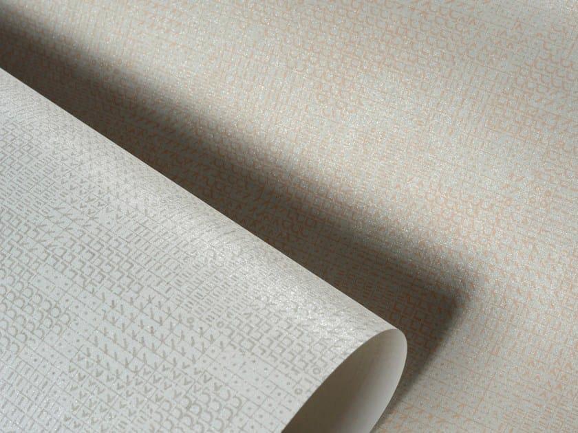 Washable nonwoven wallpaper MAISON MARGIELA LE POINT DE CROIX PLAIN by Omexco