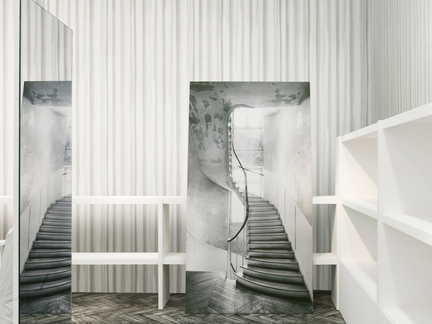 Fabric Wallpaper Maison Margiela Le Rideau By Omexco