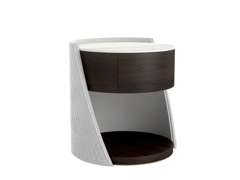 Round Bedside Table MAJESTIC | Bedside Table By Capital Collection
