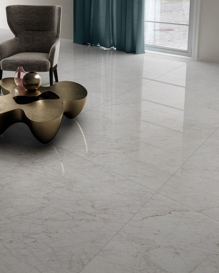 Gres Porcellanato Prezzi Bassi pavimento in gres porcellanato effetto marmo majestic