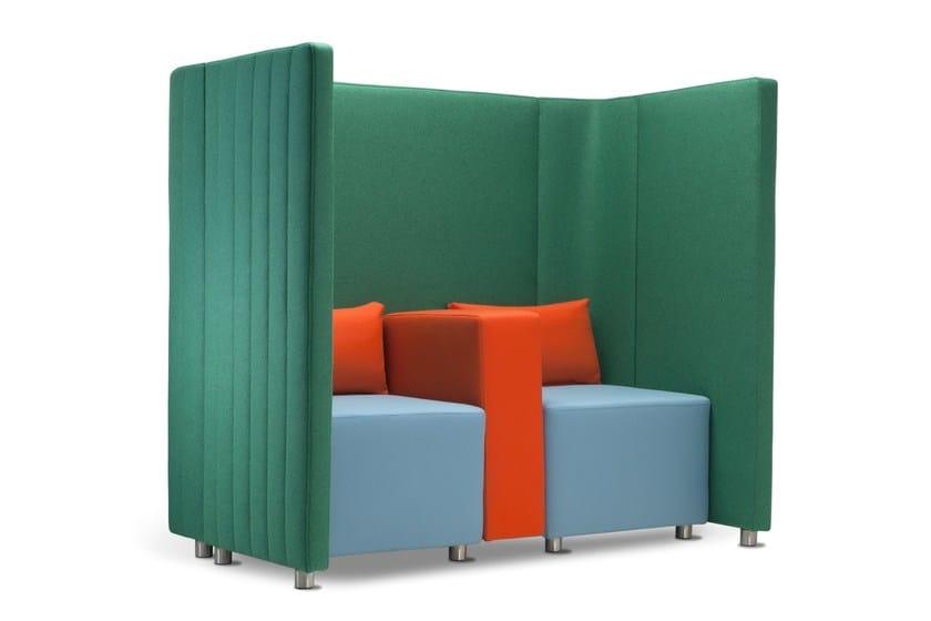 Sectional high-back leisure sofa MAJI SISTEMA 1 by Adrenalina