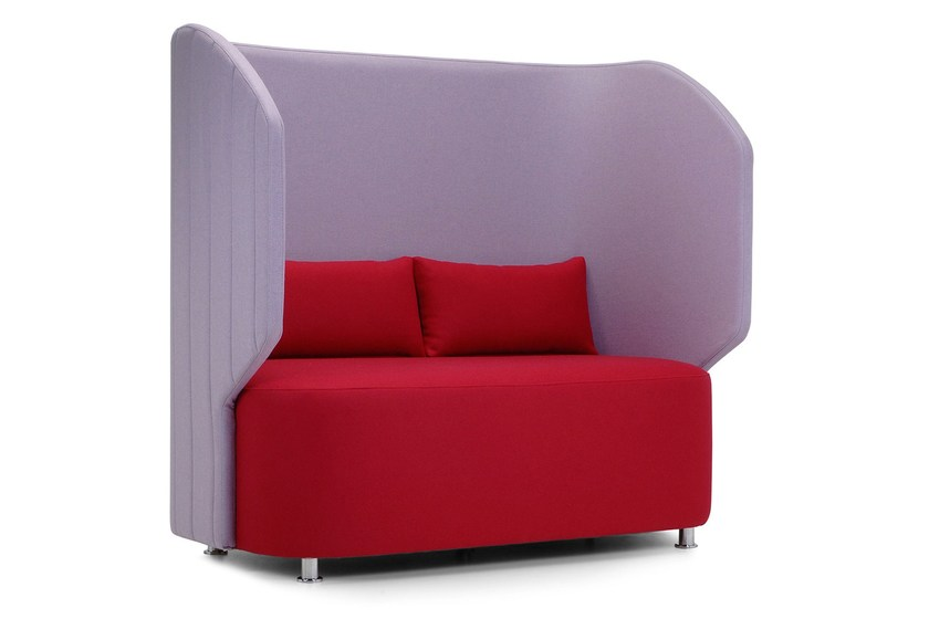 2 seater high-back leisure sofa MAJI | High-back sofa by Adrenalina