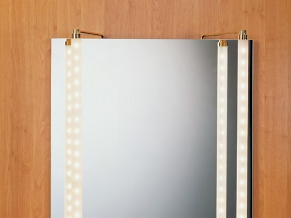 LED mirror lamp MAKE UP 4 by betec Licht