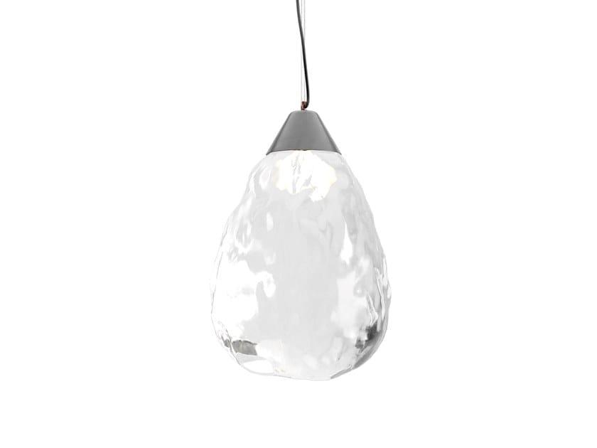 LED handmade glass pendant lamp MAKIVKA ICE by Sergey Makhno Product