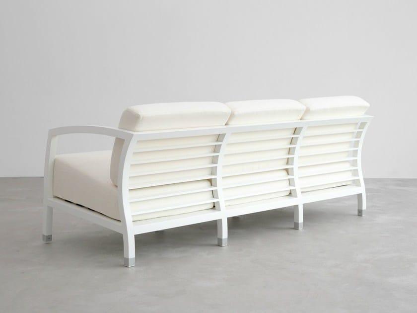 Upholstered 3 seater fabric sofa MALENA | Sofa by STUA