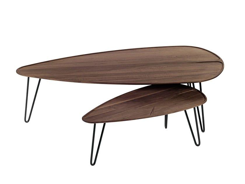 Tavolini Da Salotto In Legno Massiccio : Malin tavolino da salotto by woak