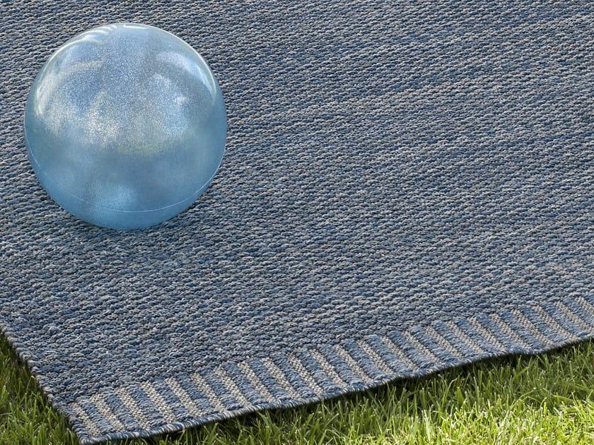 Handmade rectangular outdoor rugs MALINDI by Ethimo