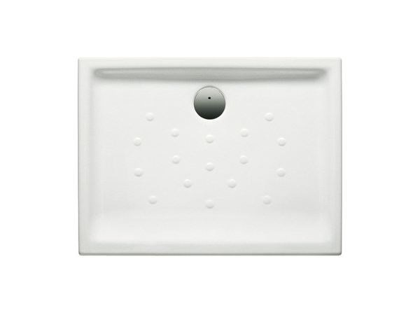 Anti-slip ceramic shower tray MALTA | Rectangular shower tray by ROCA SANITARIO