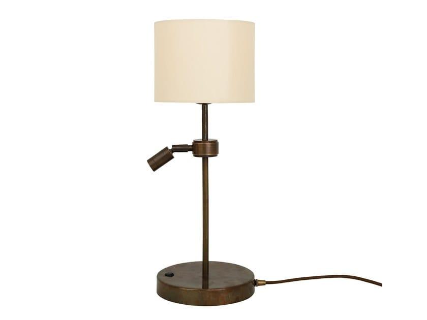 Brass table lamp MALTON by Mullan Lighting