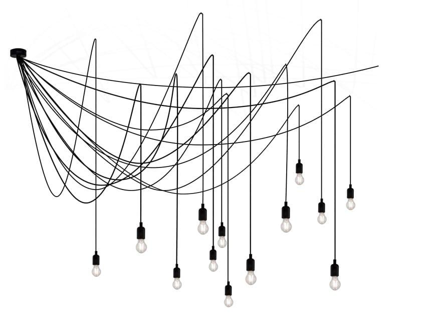 LED plastic pendant lamp MAMAN   Pendant lamp by Seletti