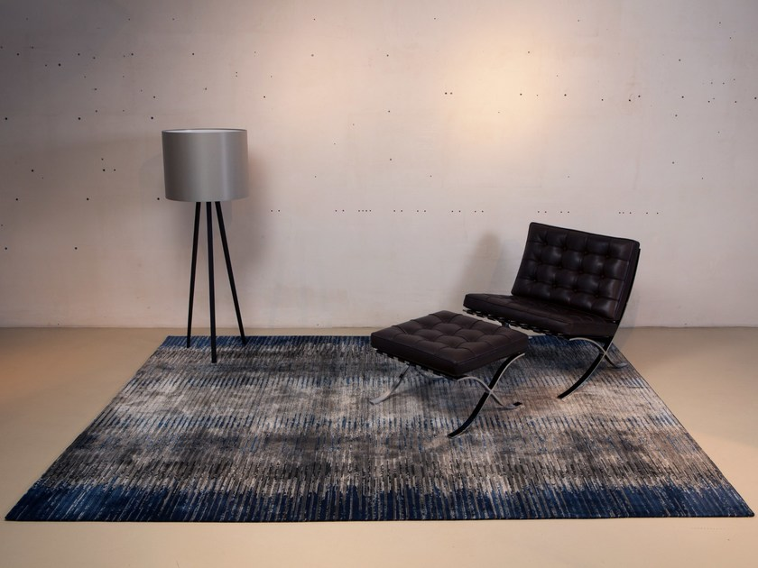 Handmade custom wool rug MAMLIN by Mischioff