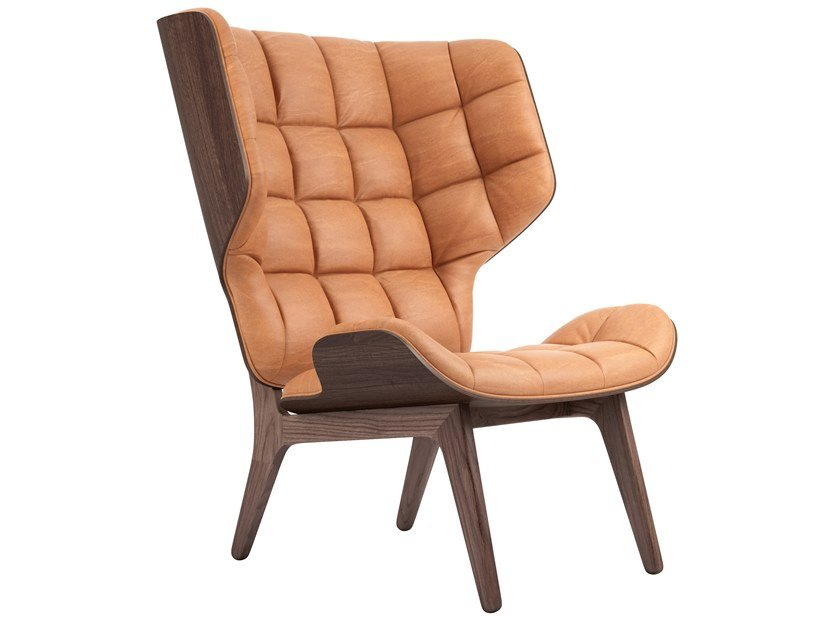 b MAMMOTH CHAIR Leather armchair NORR11 relbfa1a90f