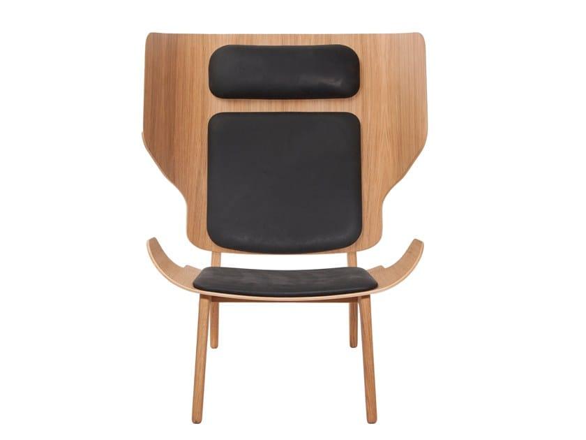 High-back armchair MAMMOTH SLIM   Armchair by NORR11
