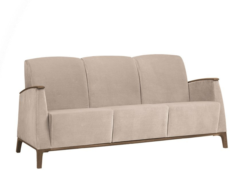 3 seater fabric sofa MAMY | CONTRACT | 3 seater sofa by PIAVAL