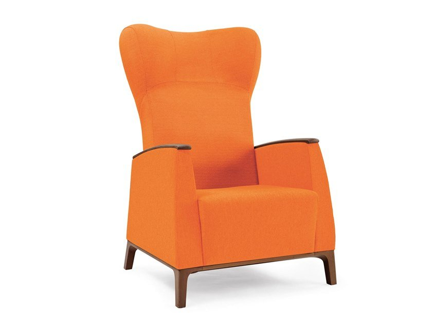 Fabric armchair with armrests MAMY   HEALTH & CARE   Armchair with armrests by PIAVAL