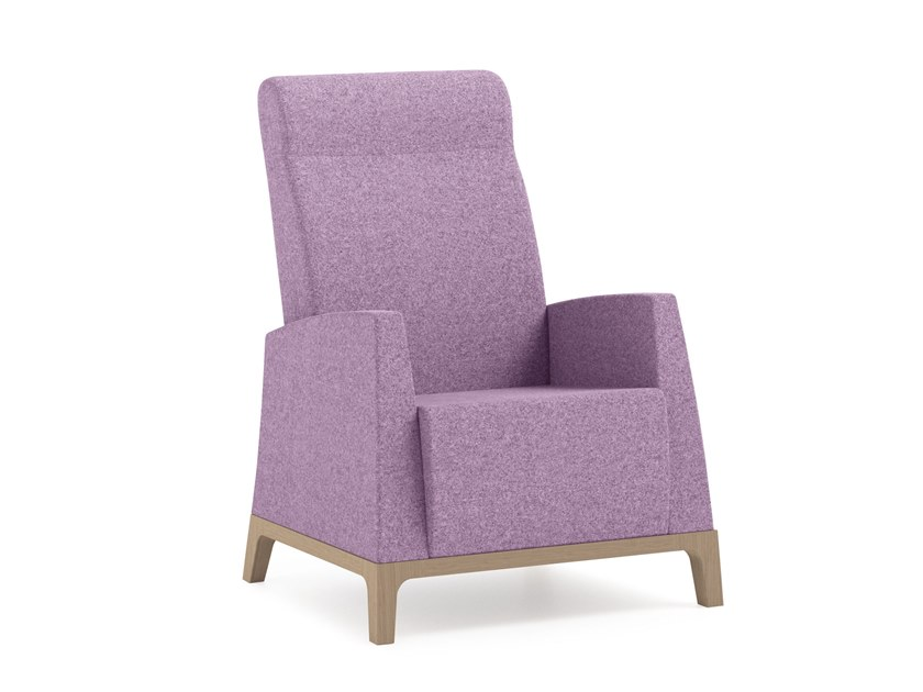 High-back fabric armchair MAMY | HEALTH & CARE | High-back armchair by PIAVAL
