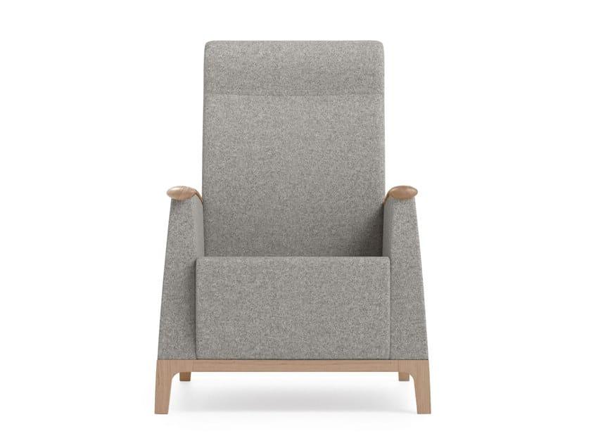 High-back fabric armchair MAMY | HEALTH & CARE | High-back armchair by PIAVAL