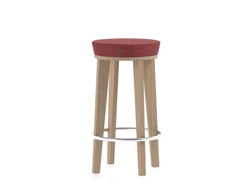 Low upholstered stool MAMY | HEALTH & CARE | Low stool by PIAVAL