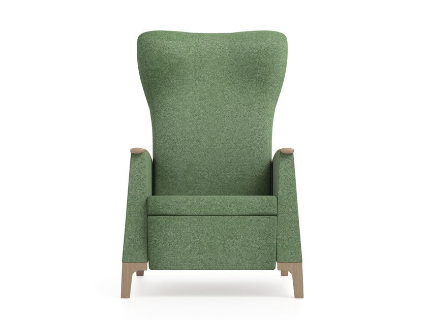 Recliner fabric armchair MAMY | HEALTH & CARE | Recliner armchair by PIAVAL