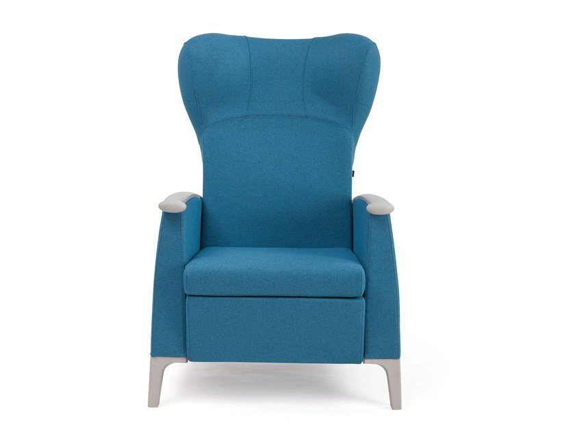 Recliner high-back fabric armchair MAMY | HEALTH & CARE | Recliner armchair by PIAVAL