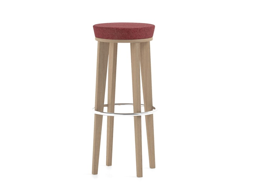 High upholstered stool MAMY | HEALTH & CARE | Upholstered stool by PIAVAL