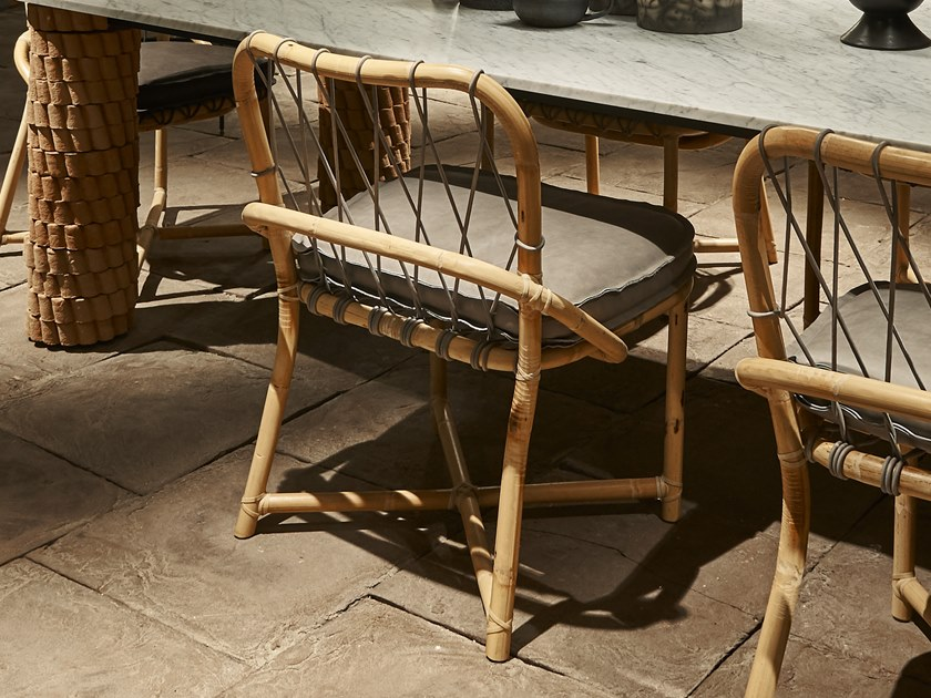Bamboo chair MANAO by BAXTER