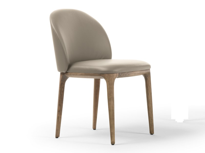 Upholstered chair MANDA | Chair by Busnelli