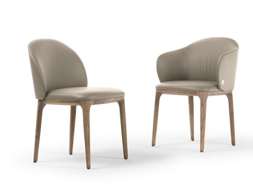 MANDA | Sedia con braccioli