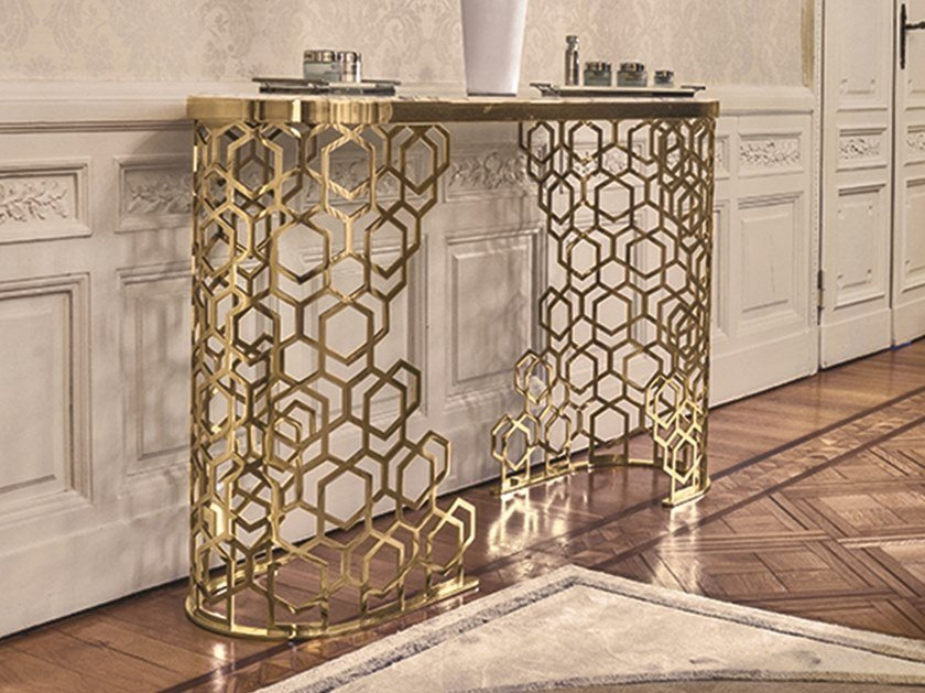 Oval Console Table MANFRED   Console Table By Longhi