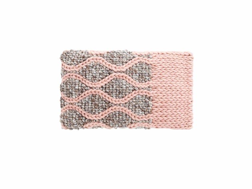 Rectangular wool cushion MANGAS SPACES   Cushion by GAN