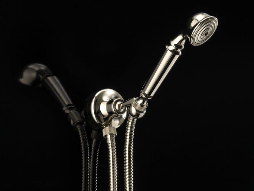 Wall-mounted handshower with bracket MANHATTAN | Handshower with bracket by Devon&Devon