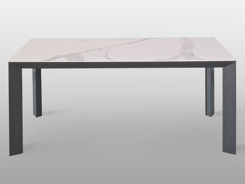 Tavolo allungabile rettangolare in ceramica MANHATTAN | Tavolo in ...