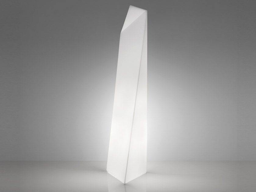 Polyethylene floor lamp MANHATTAN by SLIDE