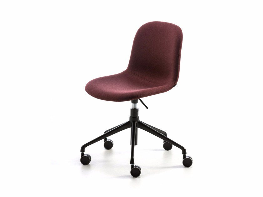 Swivel fabric task chair with casters MANI FABRIC HO by arrmet