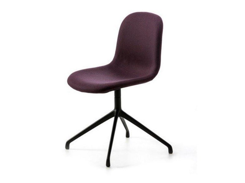 Swivel upholstered chair with 4-spoke base MANI SP by arrmet