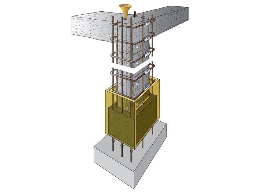 Jacketing di struttura in cemento armato