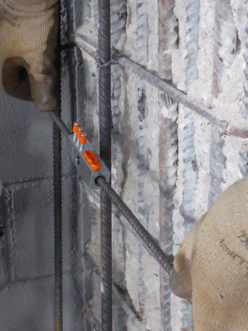 MANICOTTO GTS Incamiciatura in cemento armato