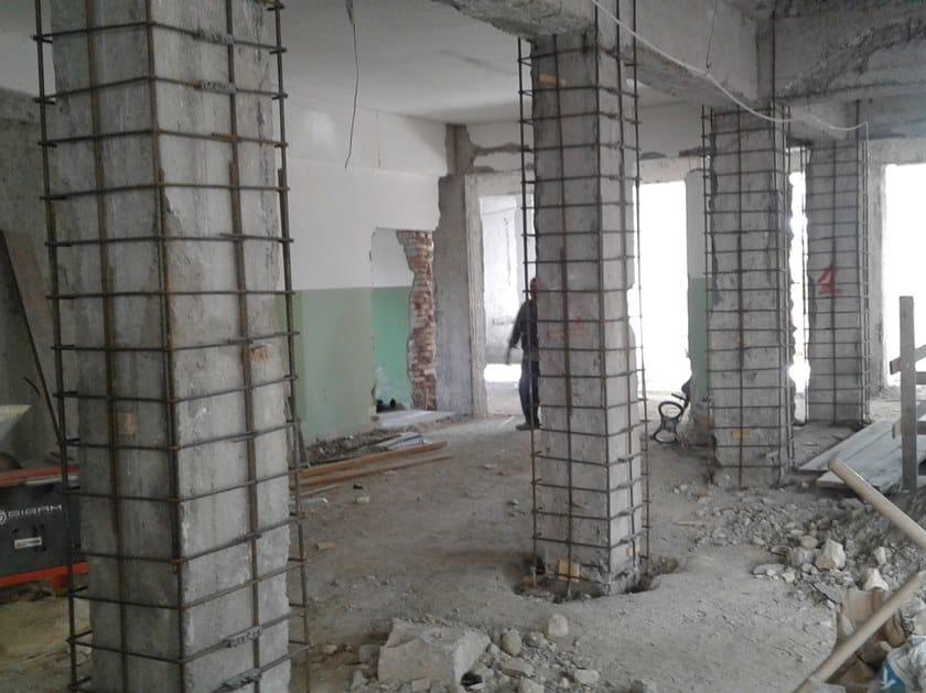 MANICOTTO GTS Jacketing in c.a. edificio scolastico